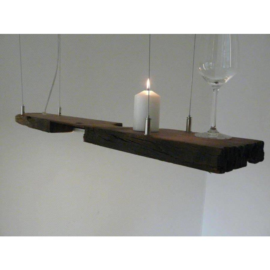 LED Lampe Hängeleuchte antik Balken-4