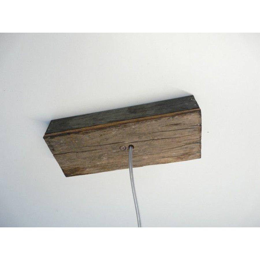 Deckenanschlussgehäuse Holz-2