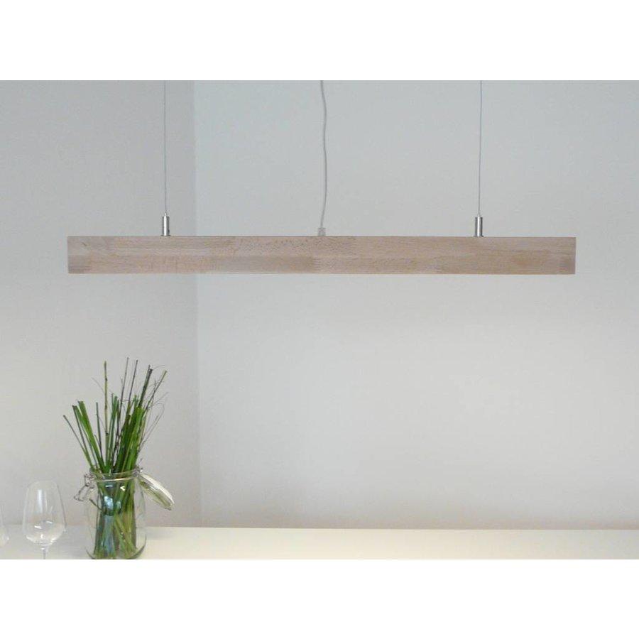 Hängelampe Deckenlampe Holz Buche-3