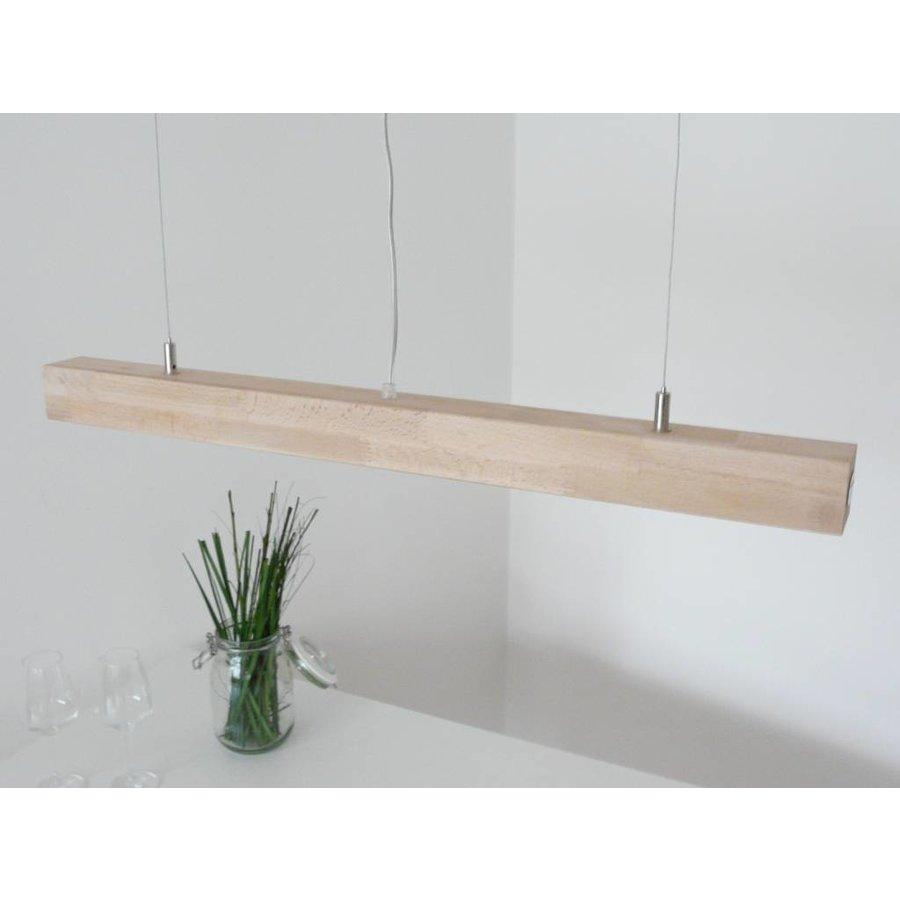 Hängelampe Deckenlampe Holz Buche-5