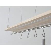 thumb-Hängeleuchte Küchenlampe Holz Buche Doppel Led Zeile-7