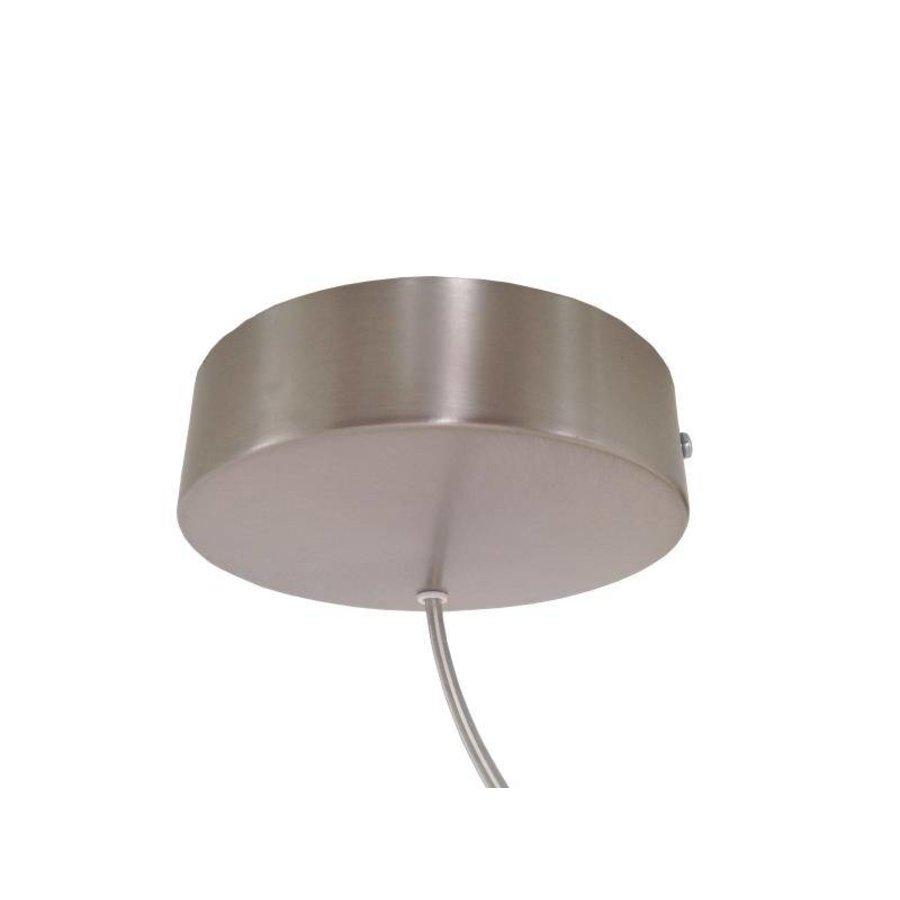 LED Hängelampe 80 cm Eiche geölt  Alublende-6