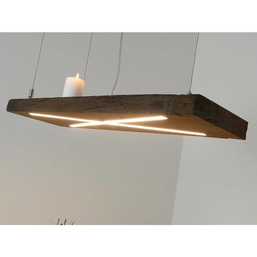 Lampe Hängeleuchte antik Balken-2