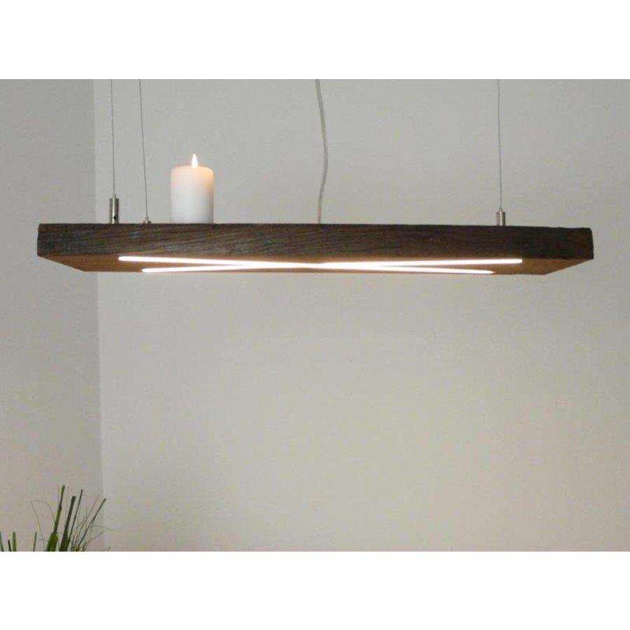 Lampe Hängeleuchte antik Balken-3