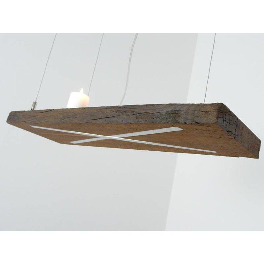 Lampe Hängeleuchte antik Balken-5