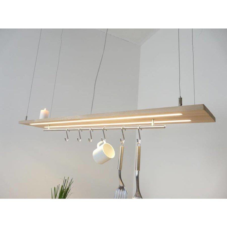 Esstischlampe Küchenlampe  Holz Buche-3