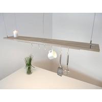 thumb-Esstischlampe Küchenlampe  Holz Buche-4