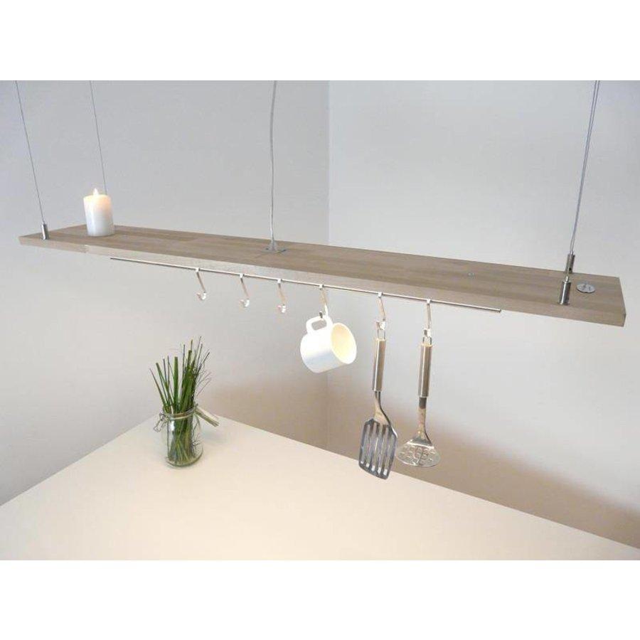 Esstischlampe Küchenlampe  Holz Buche-4
