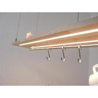 thumb-Esstischlampe Küchenlampe  Holz Buche-5