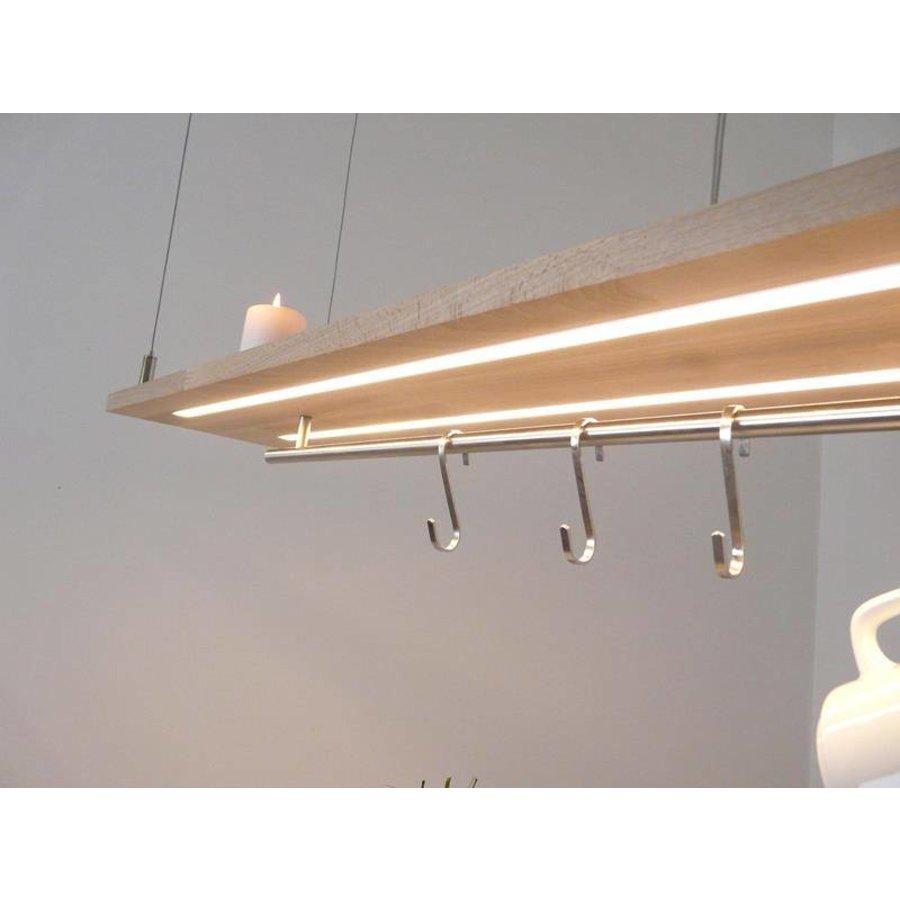Esstischlampe Küchenlampe  Holz Buche-5