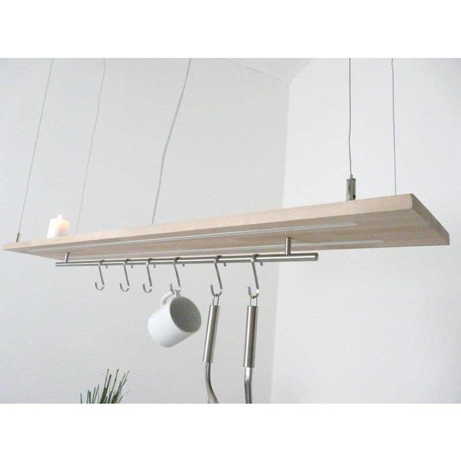Esstischlampe Küchenlampe  Holz Buche-6