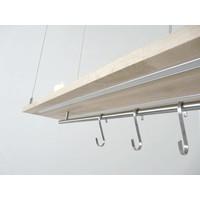 thumb-Esstischlampe Küchenlampe  Holz Buche-7
