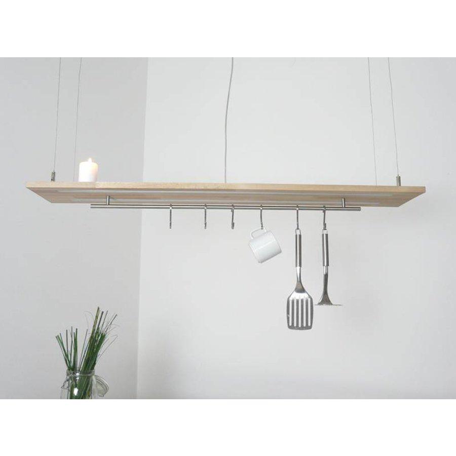 Esstischlampe Küchenlampe  Holz Buche-8