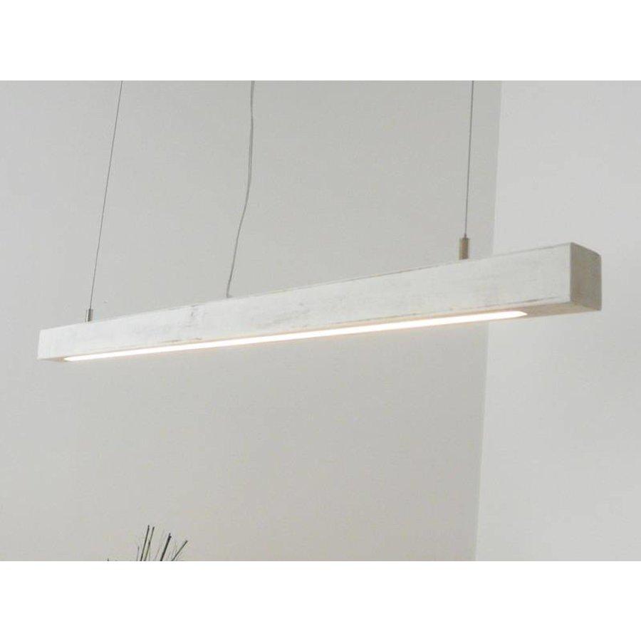 Esstischlampe Shabby chic Holzlampe-3