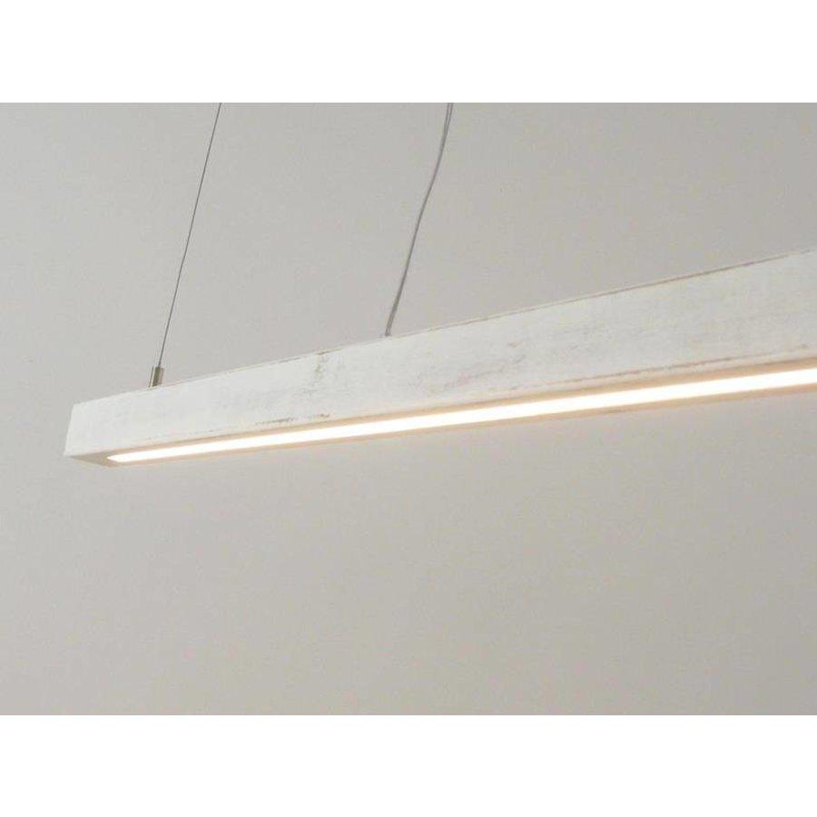 Esstischlampe Shabby chic Holzlampe-4