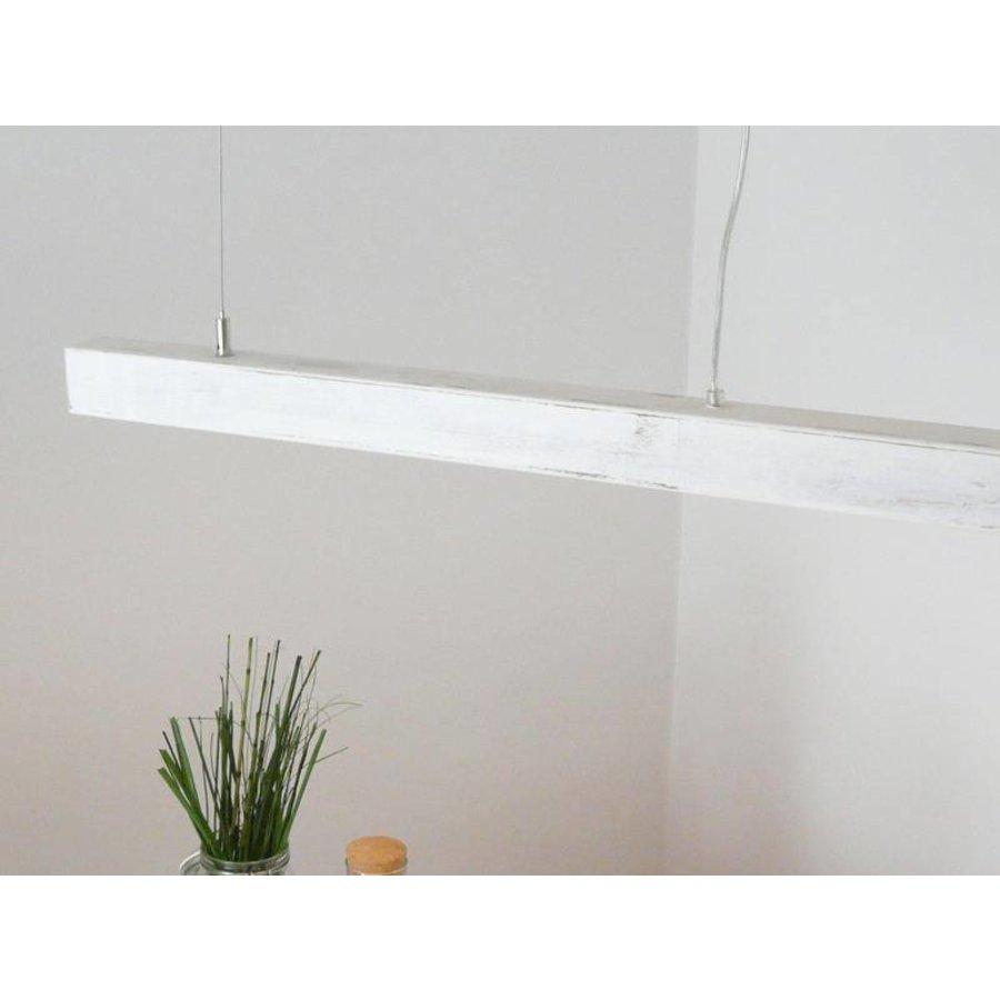 Esstischlampe Shabby chic Holzlampe-6