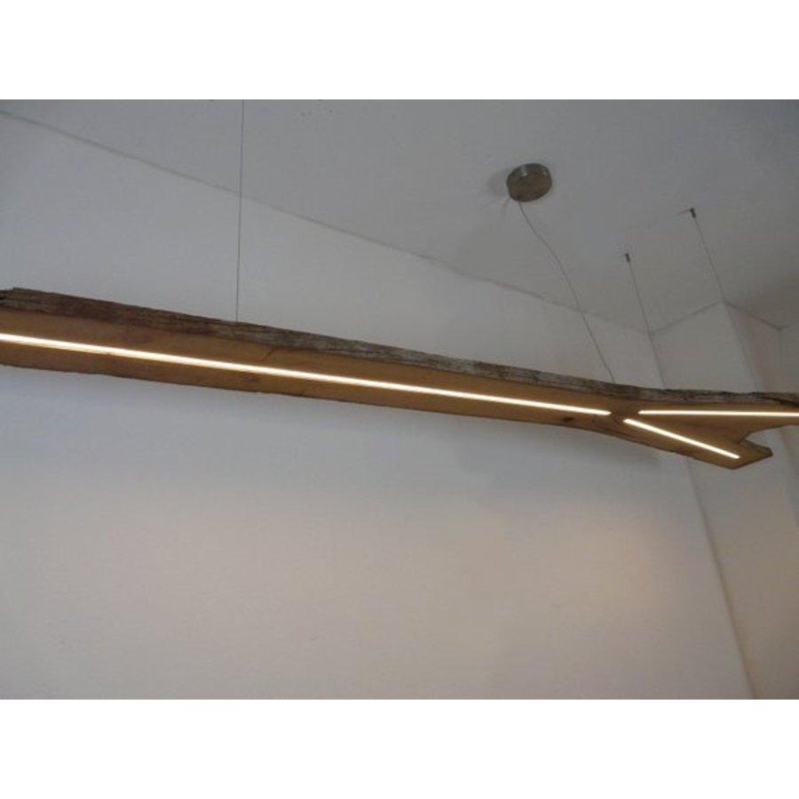 XXL LED Lampe Hängeleuchte antik Balken-5
