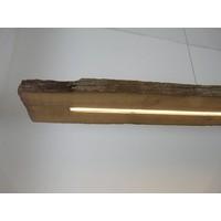 thumb-XXL LED Lampe Hängeleuchte antik Balken-7