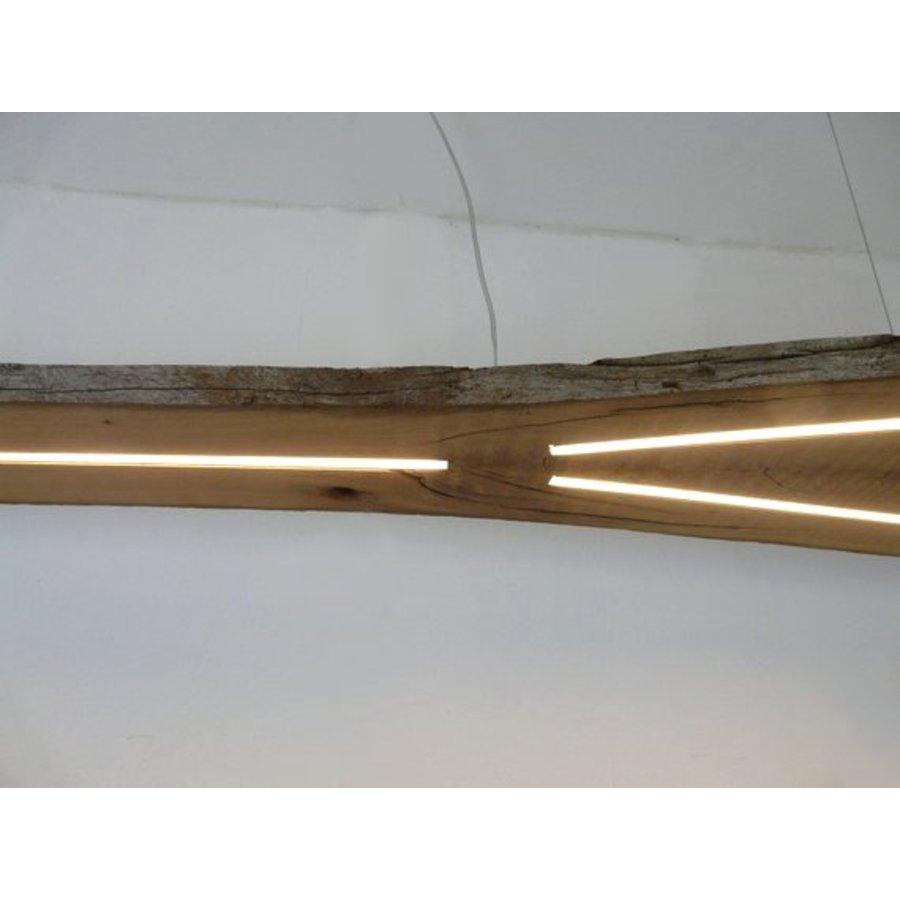 XXL LED Lampe Hängeleuchte antik Balken-8