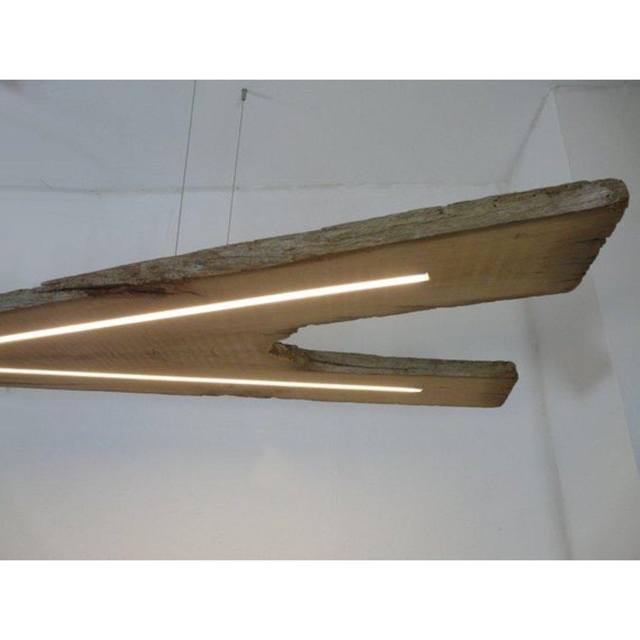 XXL LED Lampe Hängeleuchte antik Balken-9