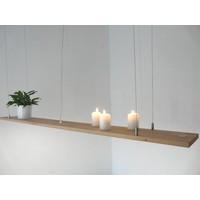 thumb-Hängeregal Leuchte Holz Buche kaufen-2