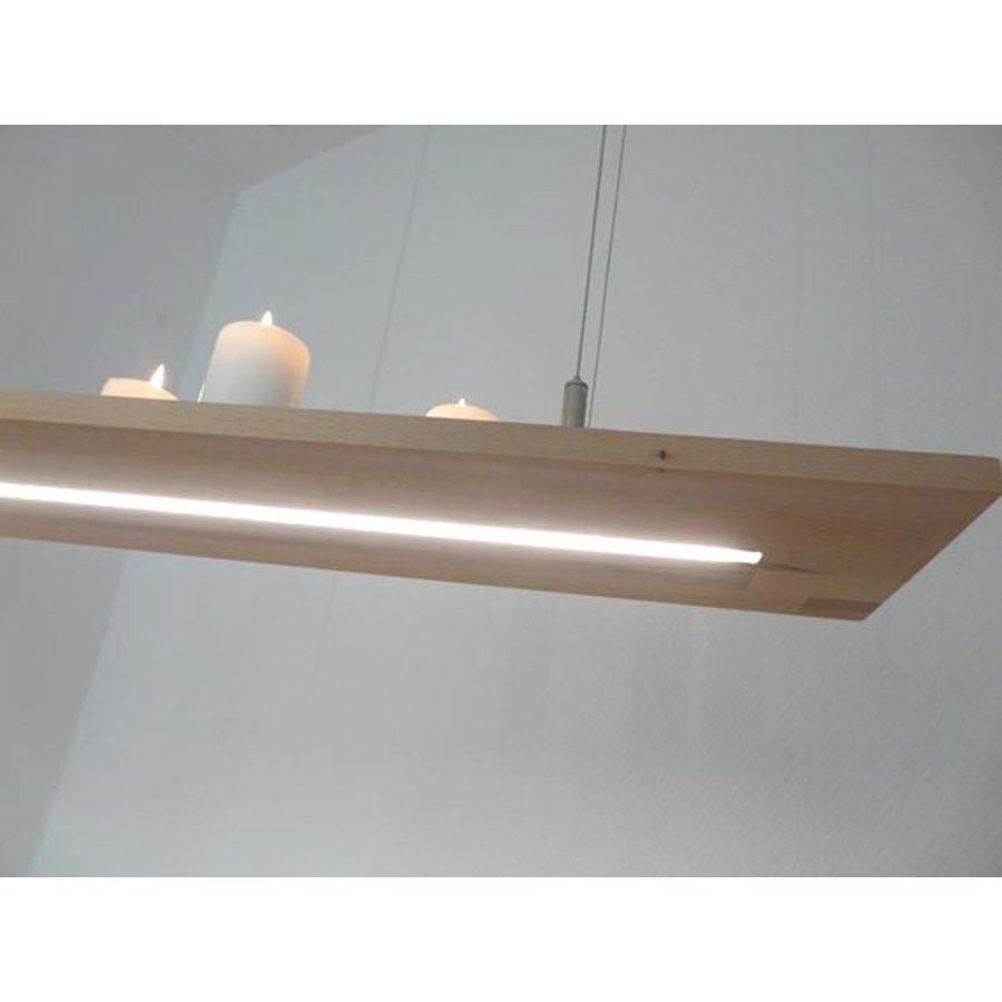 Hängeregal Leuchte Holz Buche kaufen-3