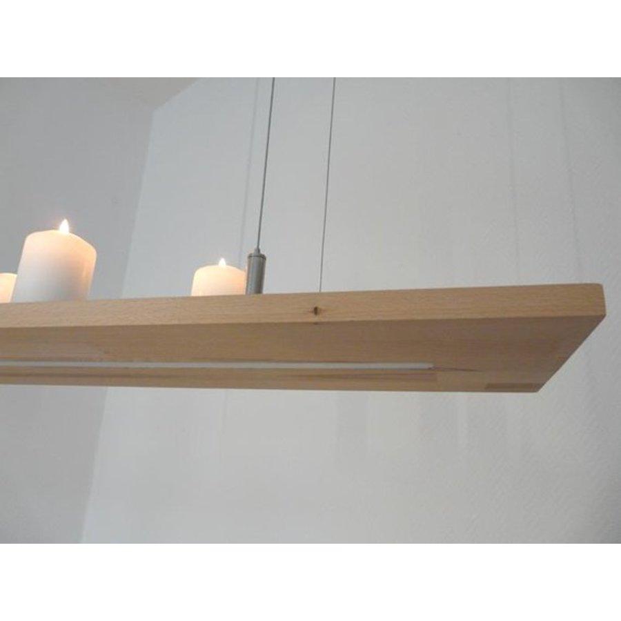 Hängeregal Leuchte Holz Buche kaufen-4