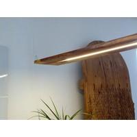 thumb-Hängeleuchte Holz Akazie-4