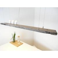 thumb-LED Lampe Hängeleuchte antik Balken graue Patina-4