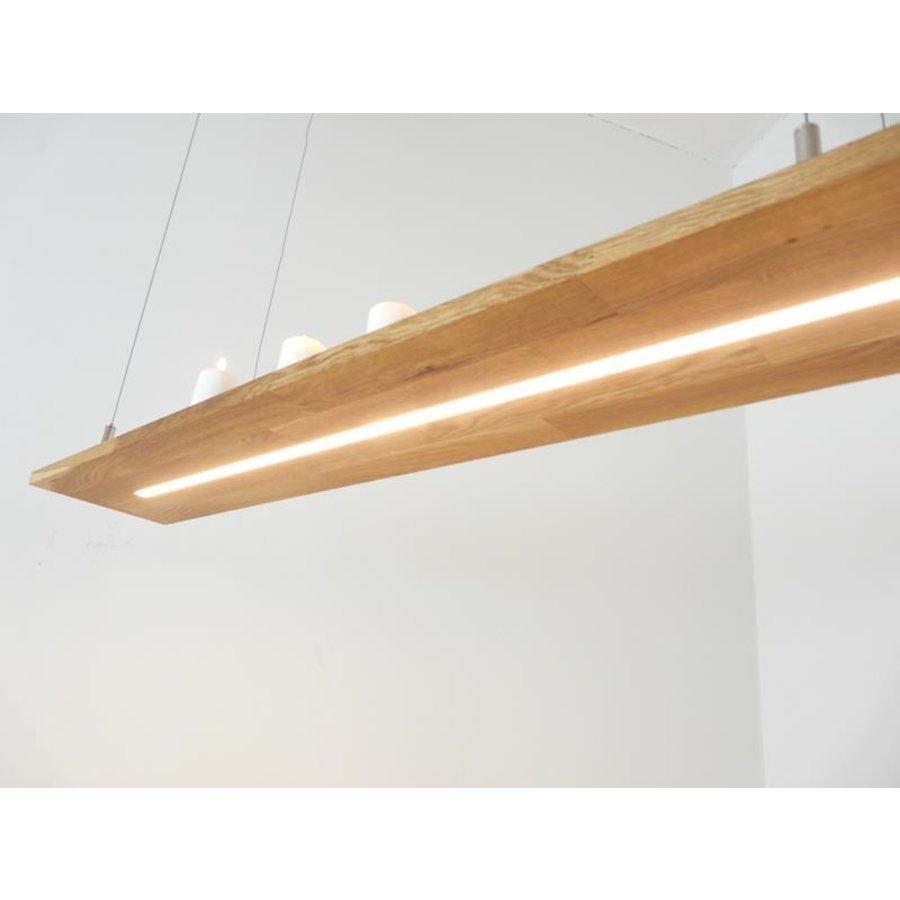 Hängelampe Holz Eiche geölt-4