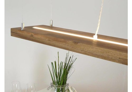 Peka Ideen Led Leuchte Hängelampe Holz Akazie
