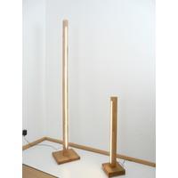 thumb-Stehlampe Holz Buche gewachst-2