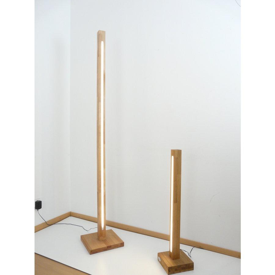 Tischleuchte Holz Buche-5