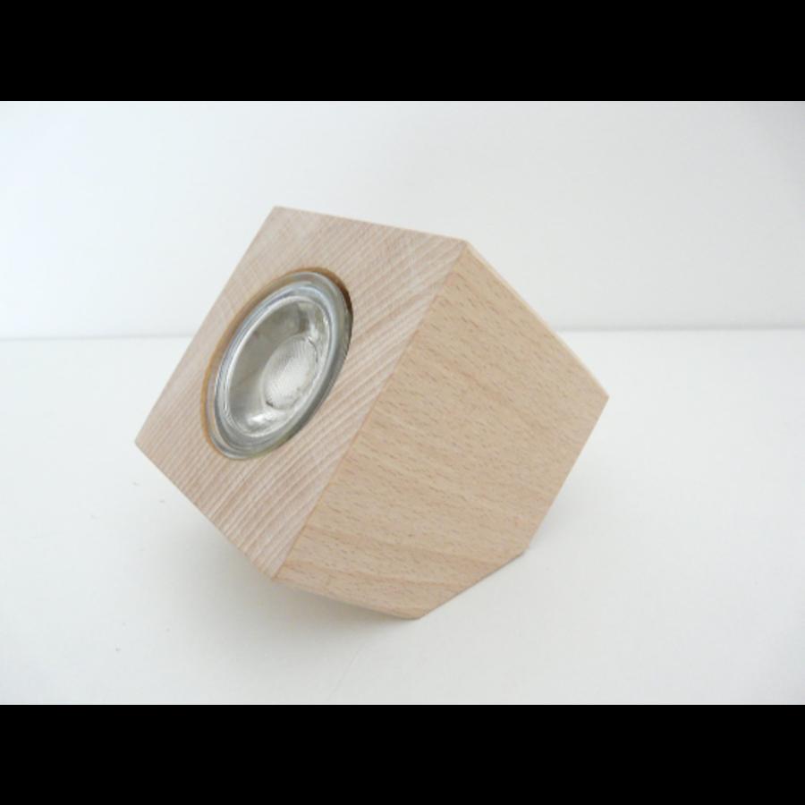 Tischleuchte Holz Buche-7