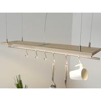 thumb-Tischleuchte Holz Buche-9