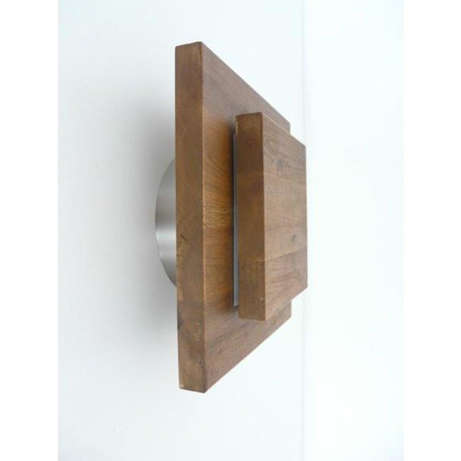Led Wandleuchte Holz Akazie-3