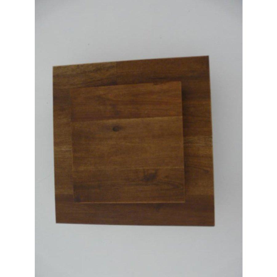 Led Wandleuchte Holz Akazie-4