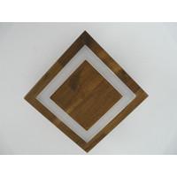 thumb-kleine Deckenleuchte Holz Akazie LED  20 x 20 cm-6