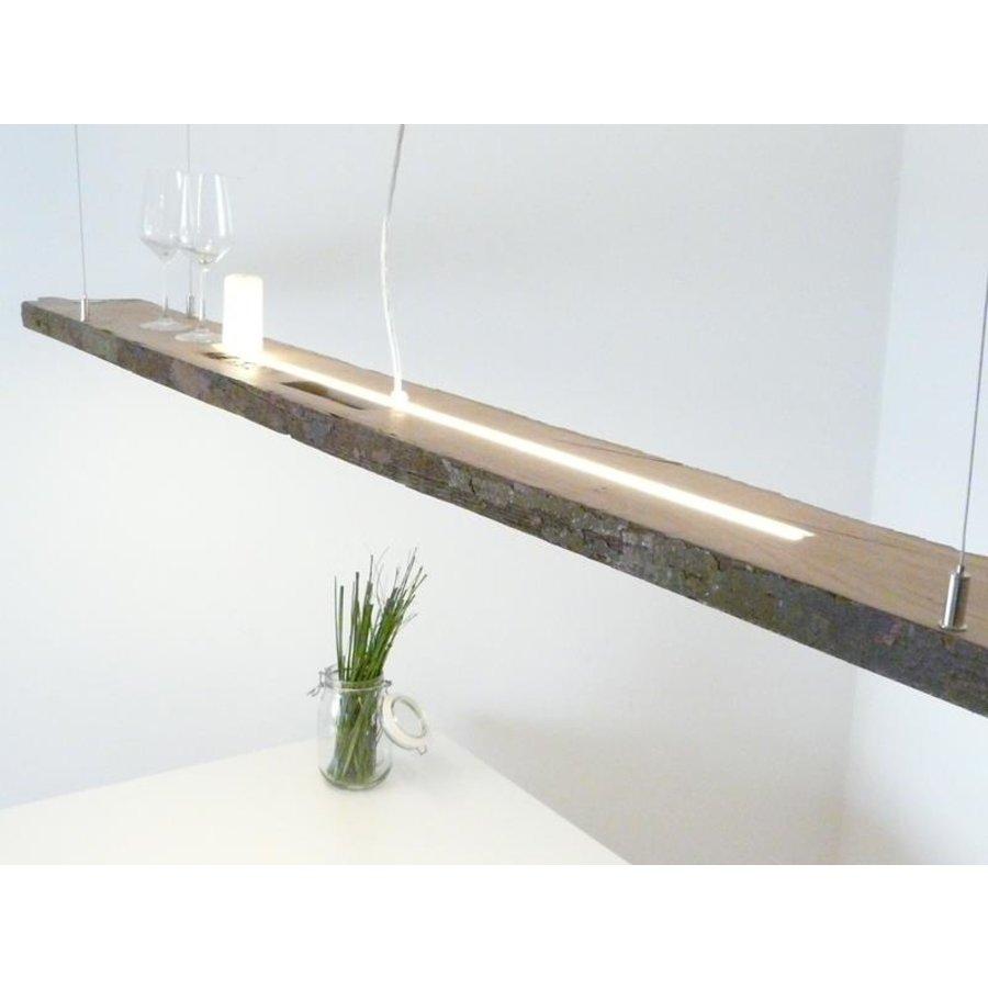 XXL LED Lampe Hängelampe Holz antik Balken-3