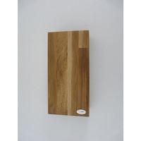 thumb-Wandleuchte Holz Eiche geölt-5