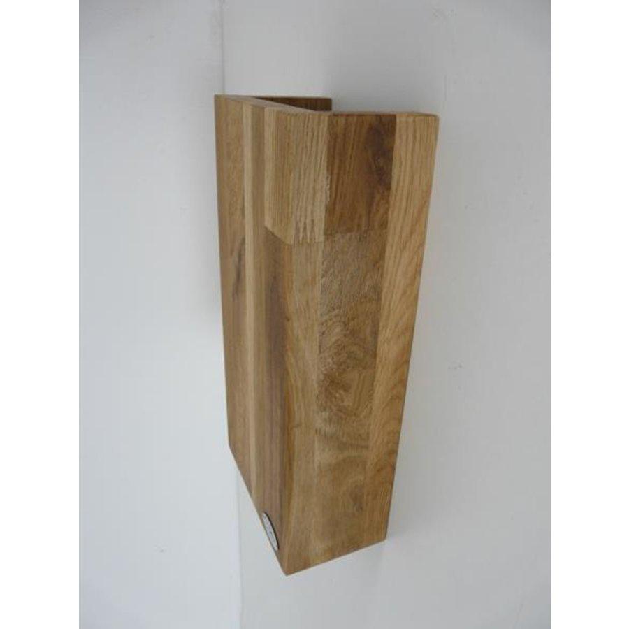 Wandleuchte Holz Eiche geölt-8