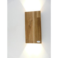 thumb-Wandleuchte Holz Eiche geölt-1