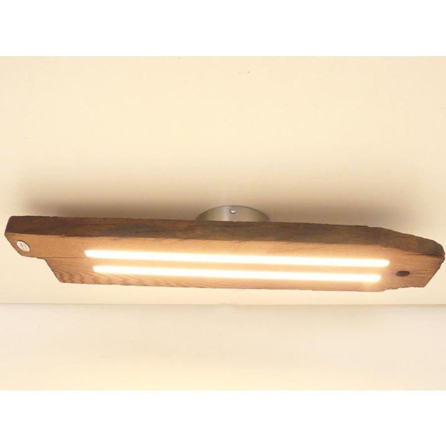 Led Deckenlampe aus antiken Eichenbalken-1