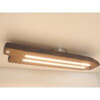 thumb-Led Deckenlampe aus antiken Eichenbalken-3