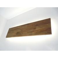 thumb-Led Wandleuchte Akazie mit indirekter Beleuchtung-3