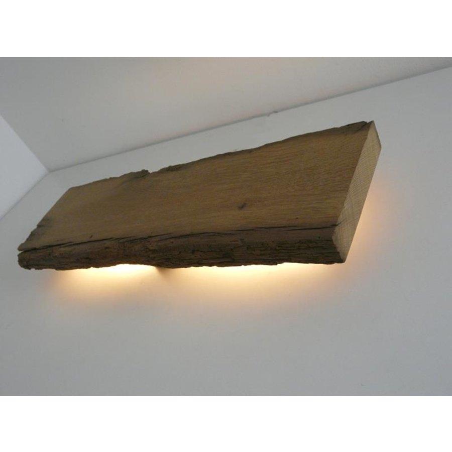 Led Wandlampe aus antiken Holz-6