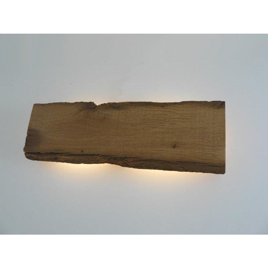 Led Wandlampe aus antiken Holz-8