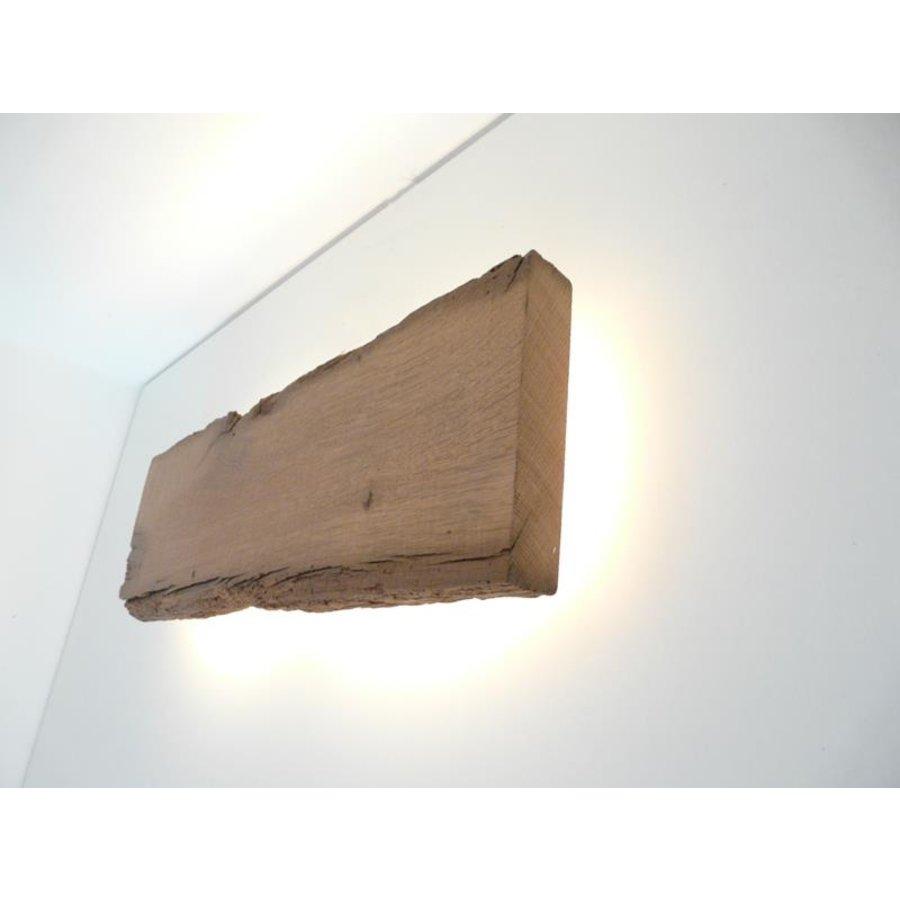 Led Wandlampe aus antiken Holz-9