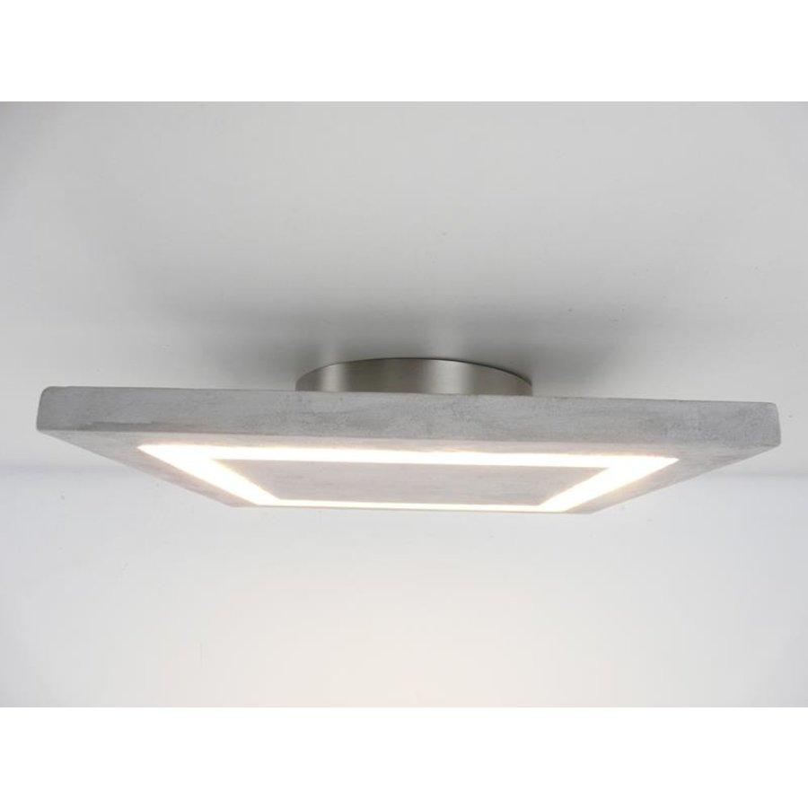 LED Deckenleuchte Betonlampe 30 cm x 30 cm-1