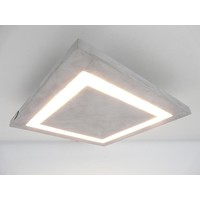 thumb-LED Deckenleuchte Betonlampe 30 x 30 cm-2